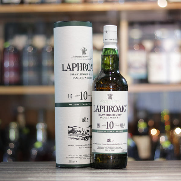 Laphroaig 10YO Cask Strength #012 (Bottled 2020) - 70cl/60.1%