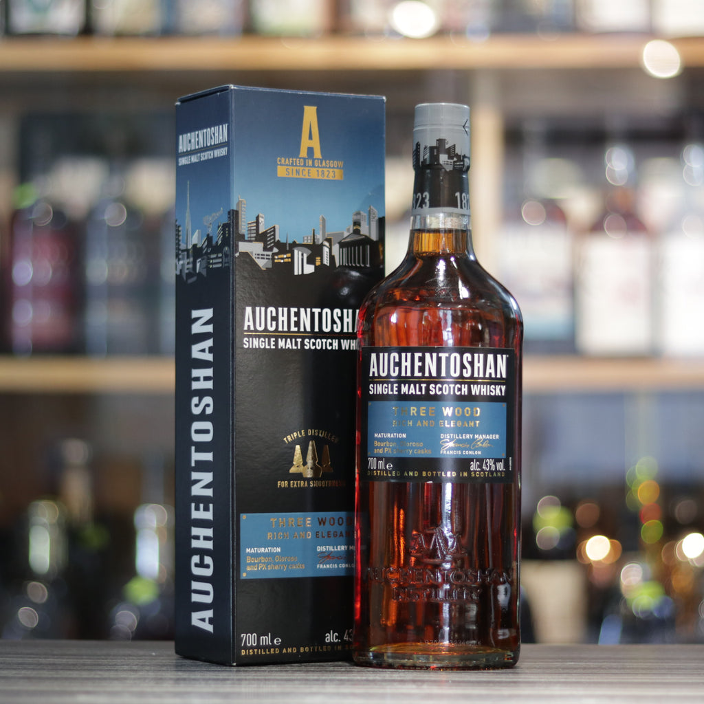 Auchentoshan Three Wood - 70cl/43%