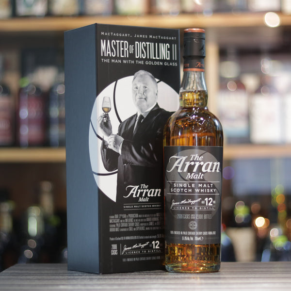 Arran Master of Distilling II - The Man with the Golden Glass - 70cl/51.8%