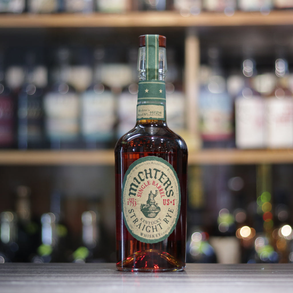 Michter's Straight Rye Whiskey - 75cl/42.4%