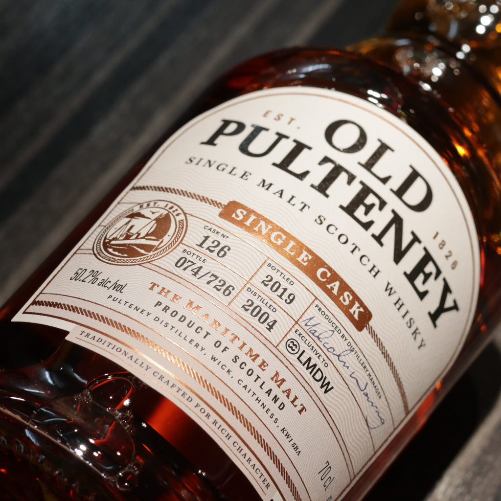 Old Pulteney 2004/2019 Single Cask #126 - 70cl/50.2%