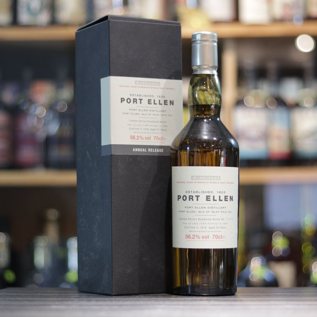 Port Ellen 4th Release 25YO - 70cl/56.2%