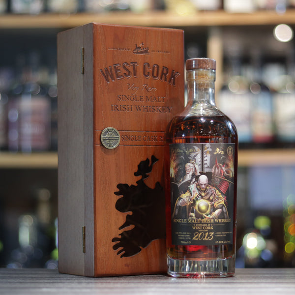 West Cork Single Malt Irish Whiskey 2013/2019 - 70cl/57.58%