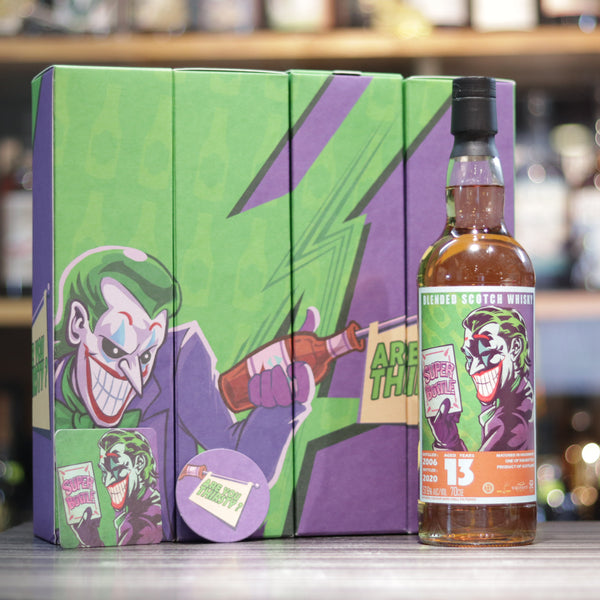 "Super Bottle ""Joker"" 13YO - 70cl/57.6%"