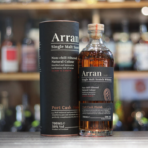 Arran Port Cask Finish (New Label) - 70cl/50%