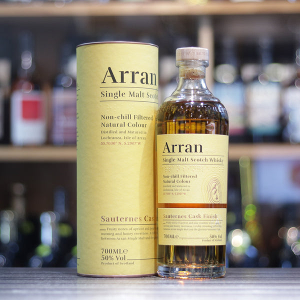 Arran Sauternes Cask Finish (New Label) - 70cl/50%