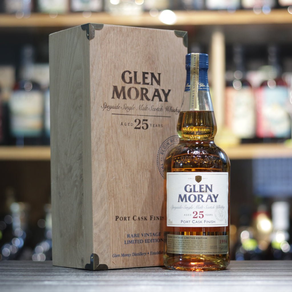 Glen Moray 25YO - 70cl/43%