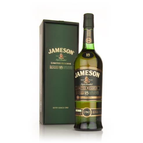 Jameson 18YO Limited Reserve - 70cl/40%