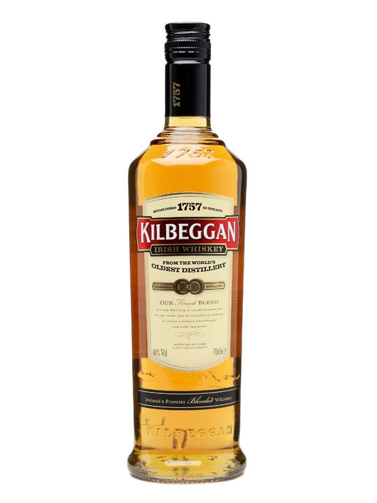 Kilbeggan Irish Whisky - 70cl/40%