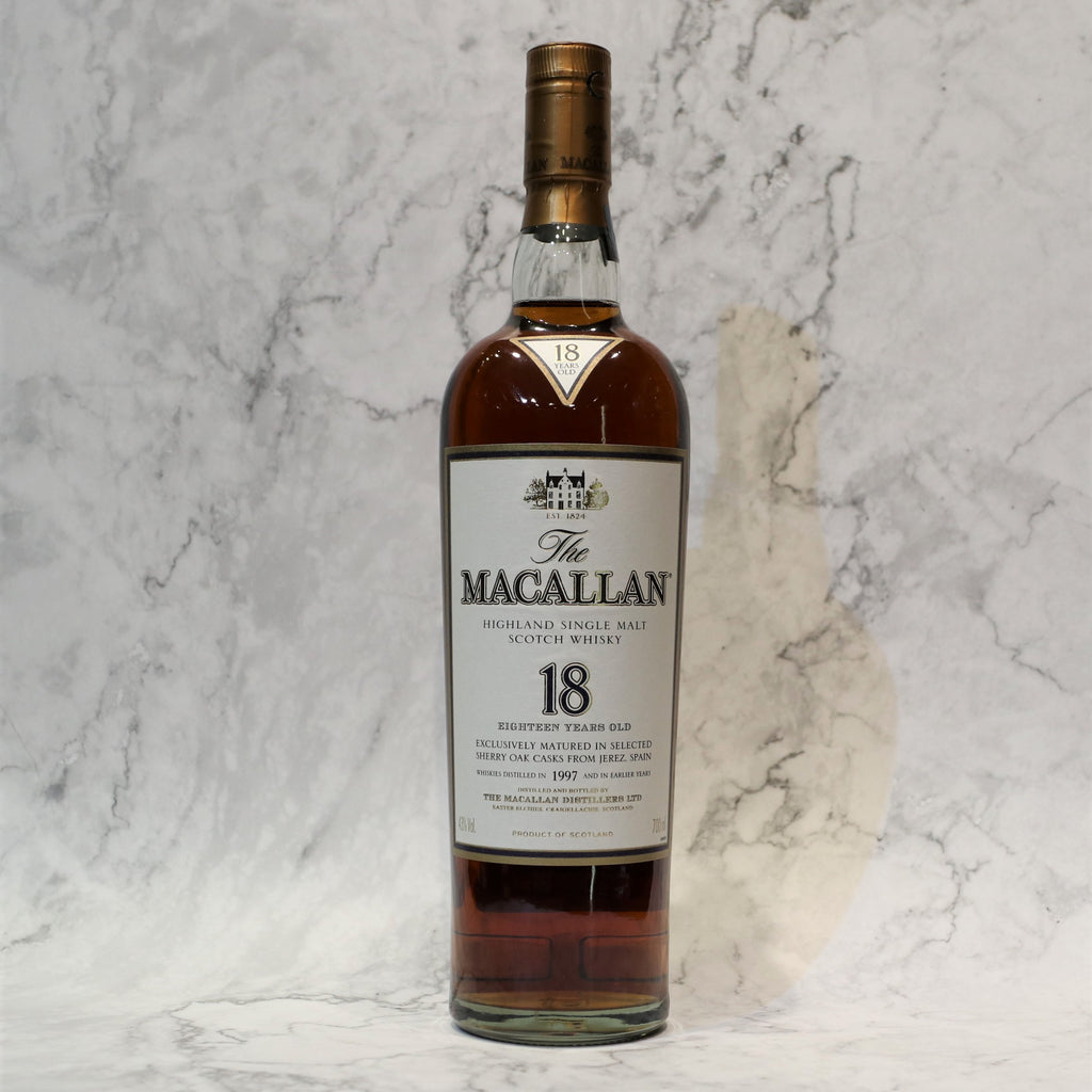 Macallan 18YO/1997 Sherry Oak - 70cl/43%
