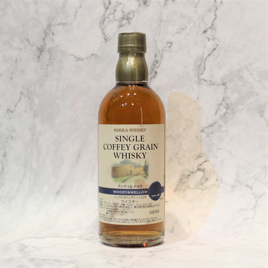 Nikka 12YO Single Coffey Grain Woody & Mellow- 50cl/55%