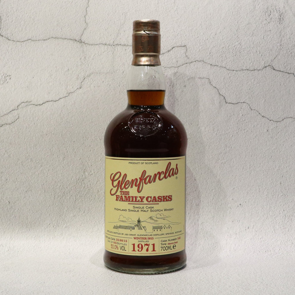 Glenfarclas The Family Cask 1971 44YO - 70cl/50.0%