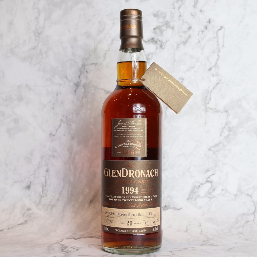 Glendronach Single Cask 1994 #1481 20YO - 70cl/56.1%