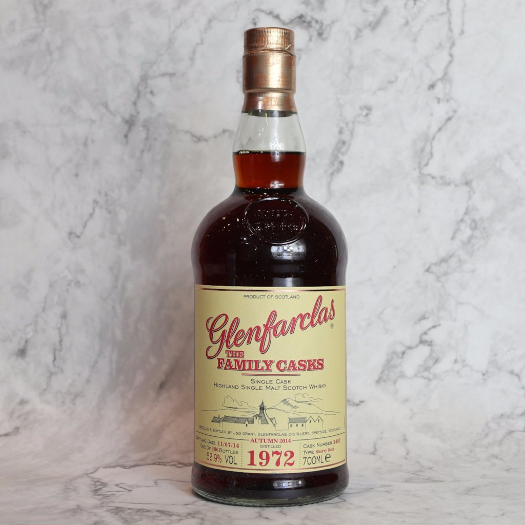 Glenfarclas The Family Cask 1972 42YO - 70cl/52.9%