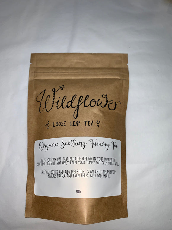 Wildflower Loose Leaf Tea- Organic Soothing Tummy Tea
