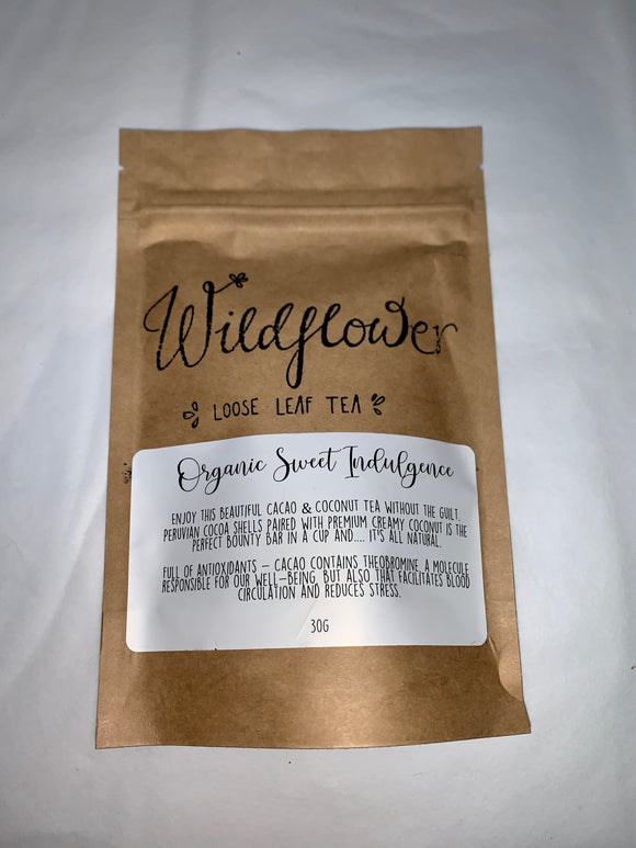 Wildflower Loose Leaf Tea- Organic Sweet Indulgence