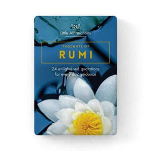 Thoughts of Rumi Affirmation Cards