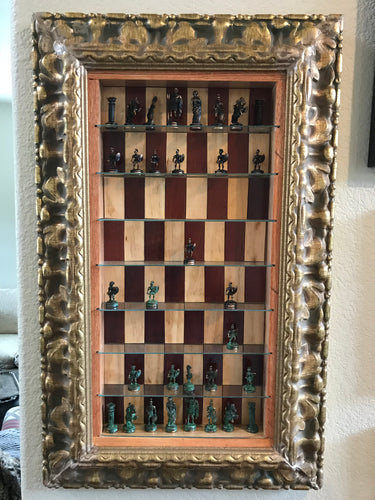 Vertical Hanging Chess Board