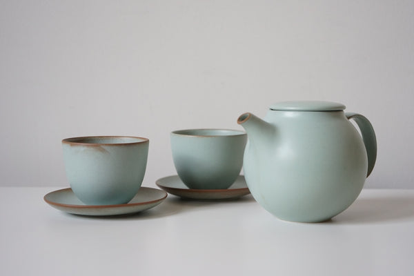 Pebble Tea Set - Soft Turquoise