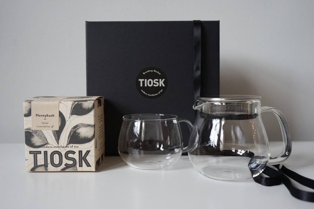 teapot gift set for one