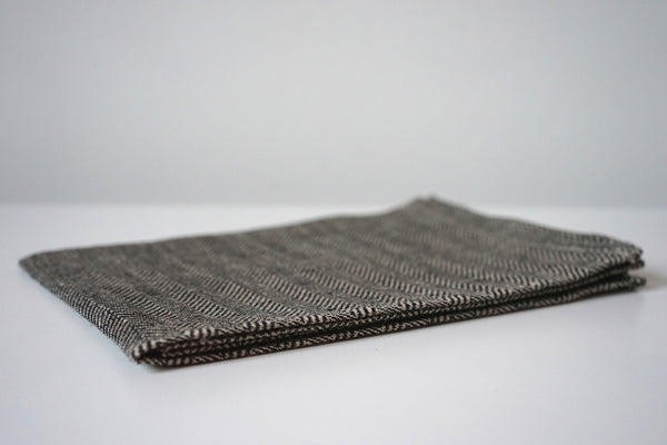Linen Tea Towel - Herringbone