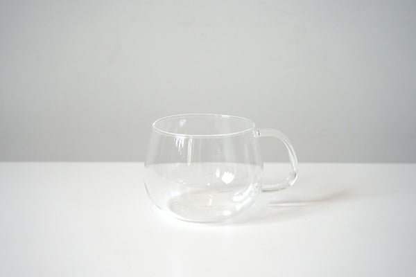 simple glass mug