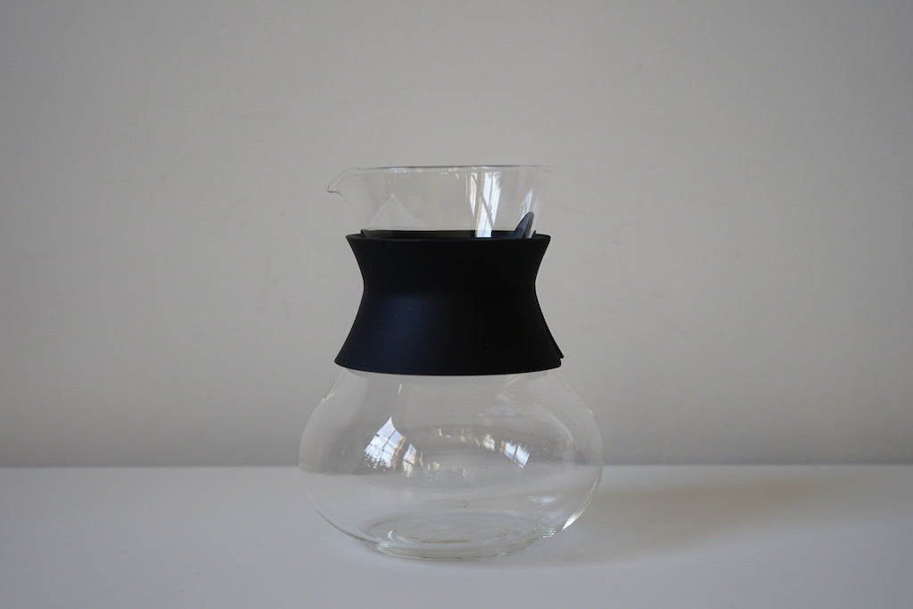 Glass teapot pitcher
