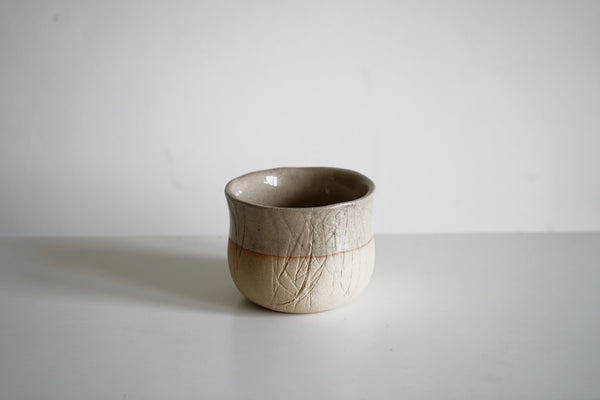 Stoneware Tea Bowl - Beige
