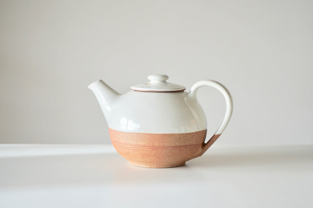Mali Teapot - Terracotta + Cream