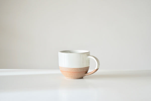 Mali Large Cup - Terracotta + Cream