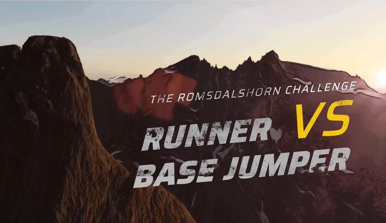 Runner Vs BASE Jumper