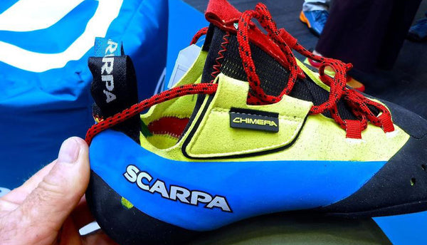 Scarpa Chimera - Evolution of an Apex Rock Shoe