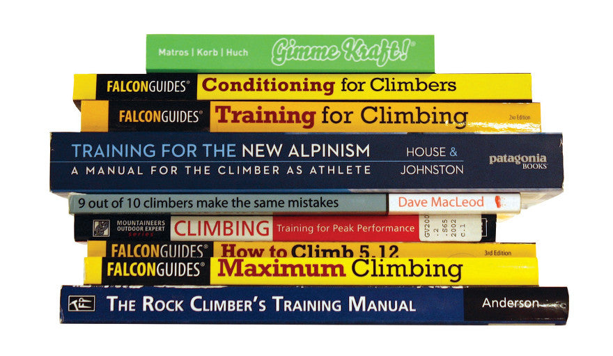 A review of ten of the best instructional books for climbers