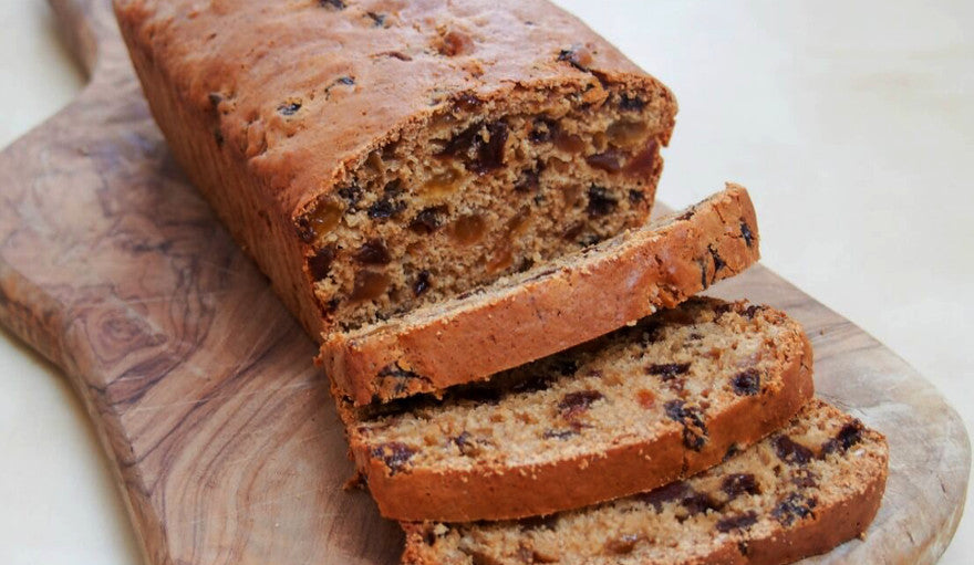 High Energy, Low Fat Fruit Loaf Recipe