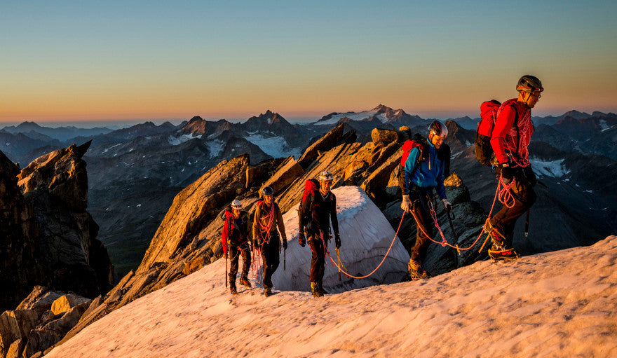 A group of Alpine Mountaineers