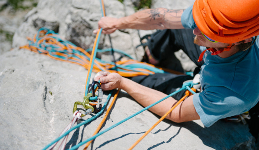 Belaying in Guide Mode