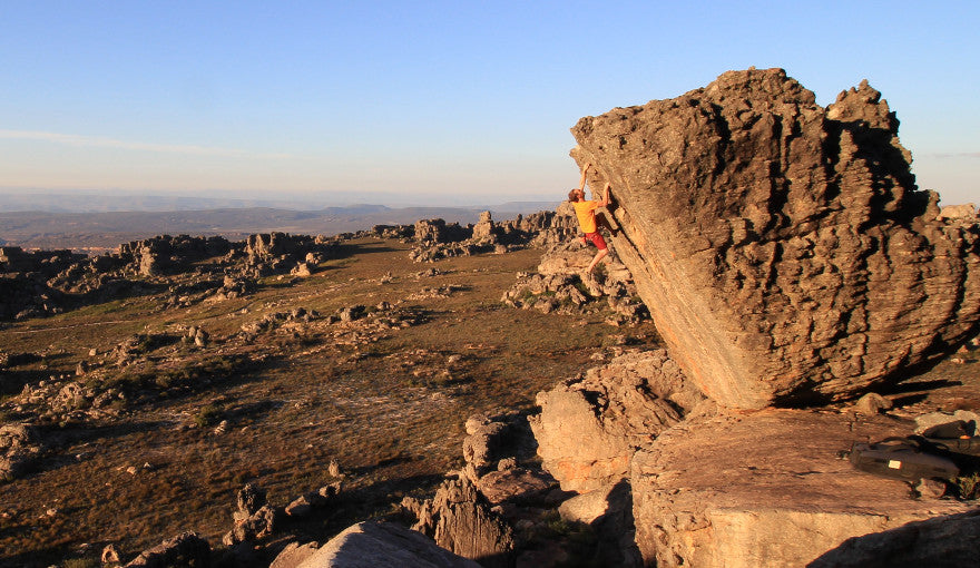 Bouldering in Rocklands, South Africa