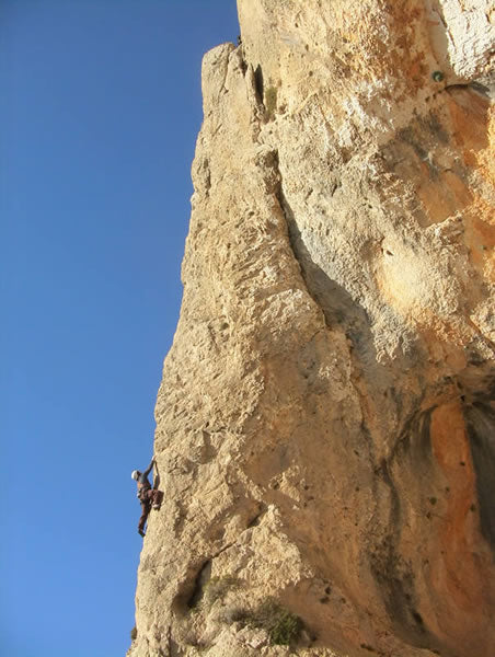 Second ascent of Heavens Rib, serella