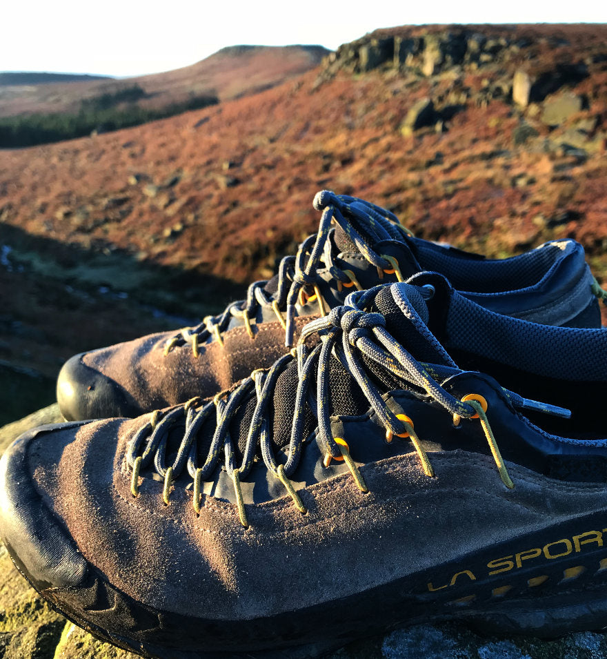 La Sportiva TX4 Approach Shoe in action