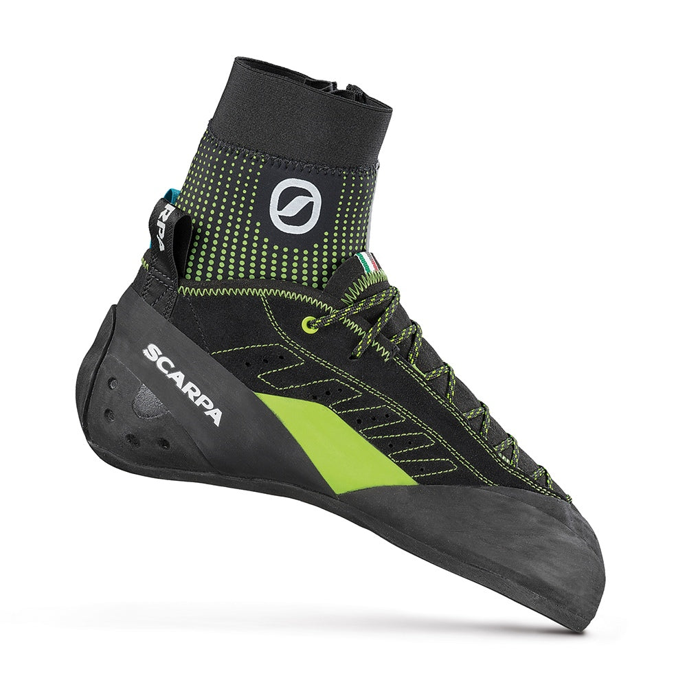 Scarpa Maestro Alpine climbing shoe, outer side view