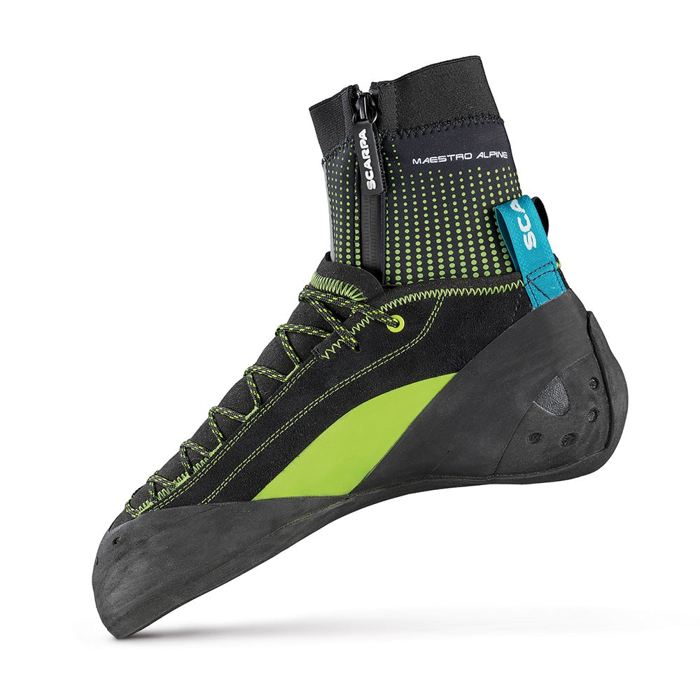 Scarpa Maestro Alpine climbing shoe, inner side view