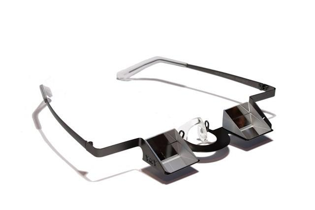 Y&Y Belay Glasses for climbing, in gun metal grey