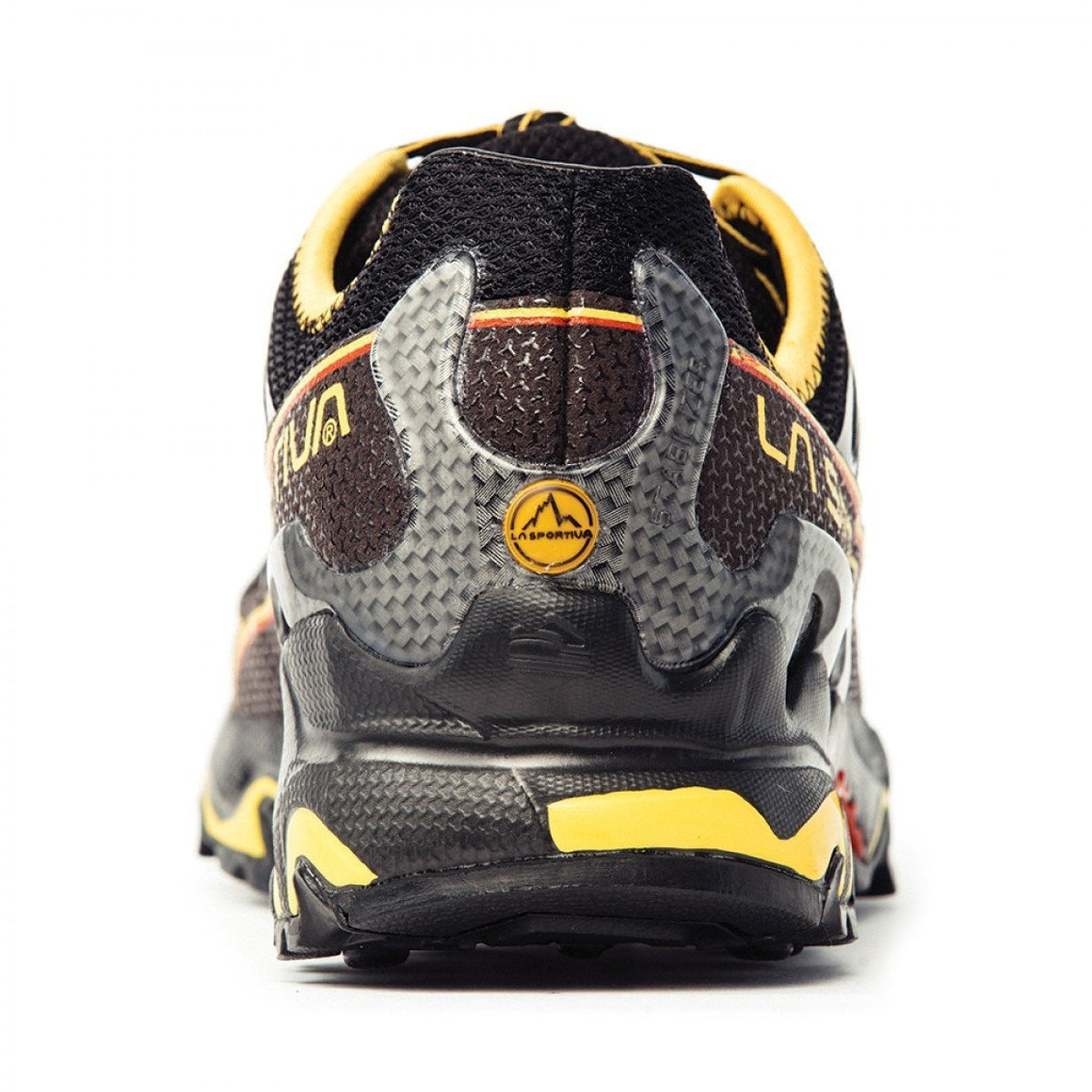 La Sportiva Ultra Raptor running shoe, heel view