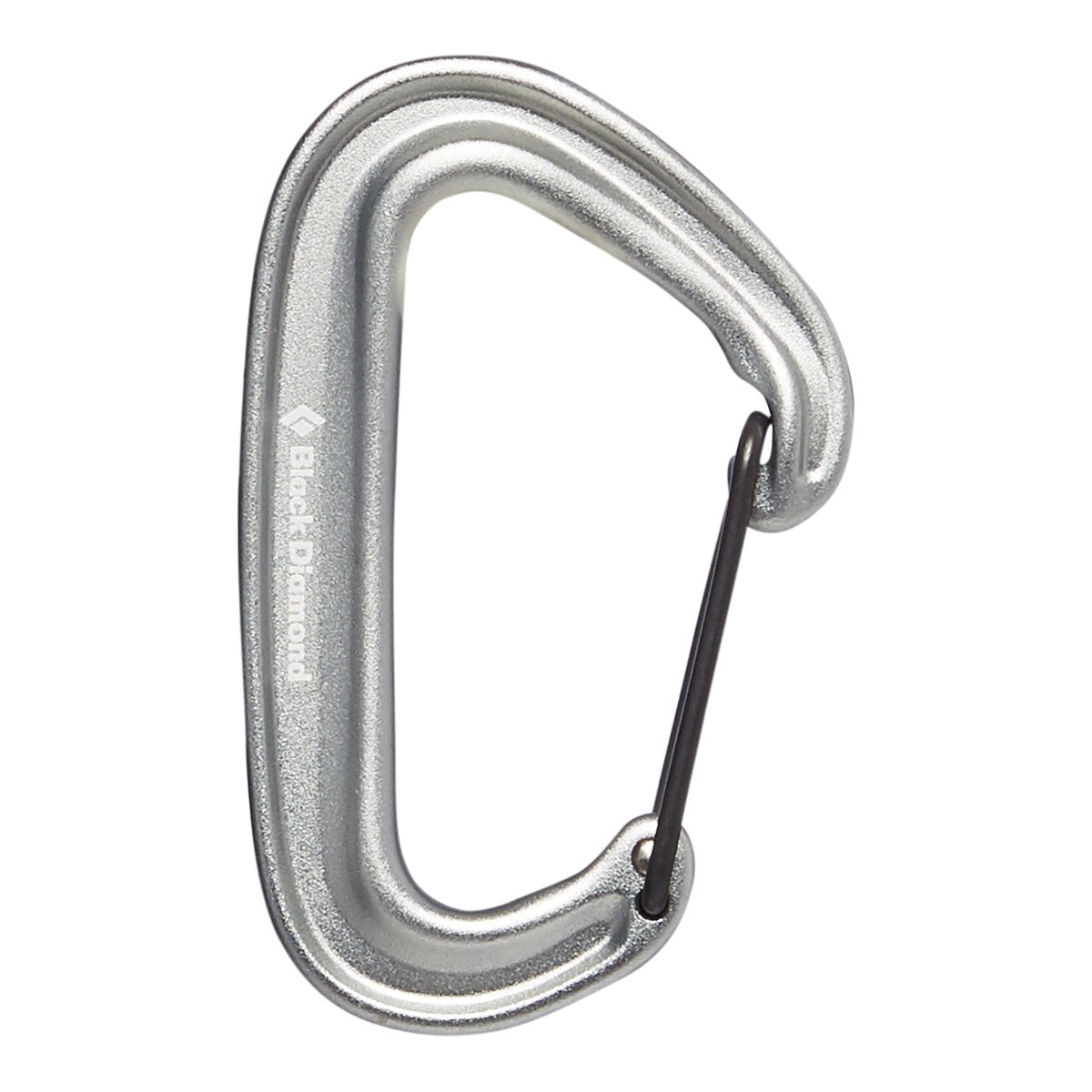 Black Diamond Miniwire Carabiner in Light Grey