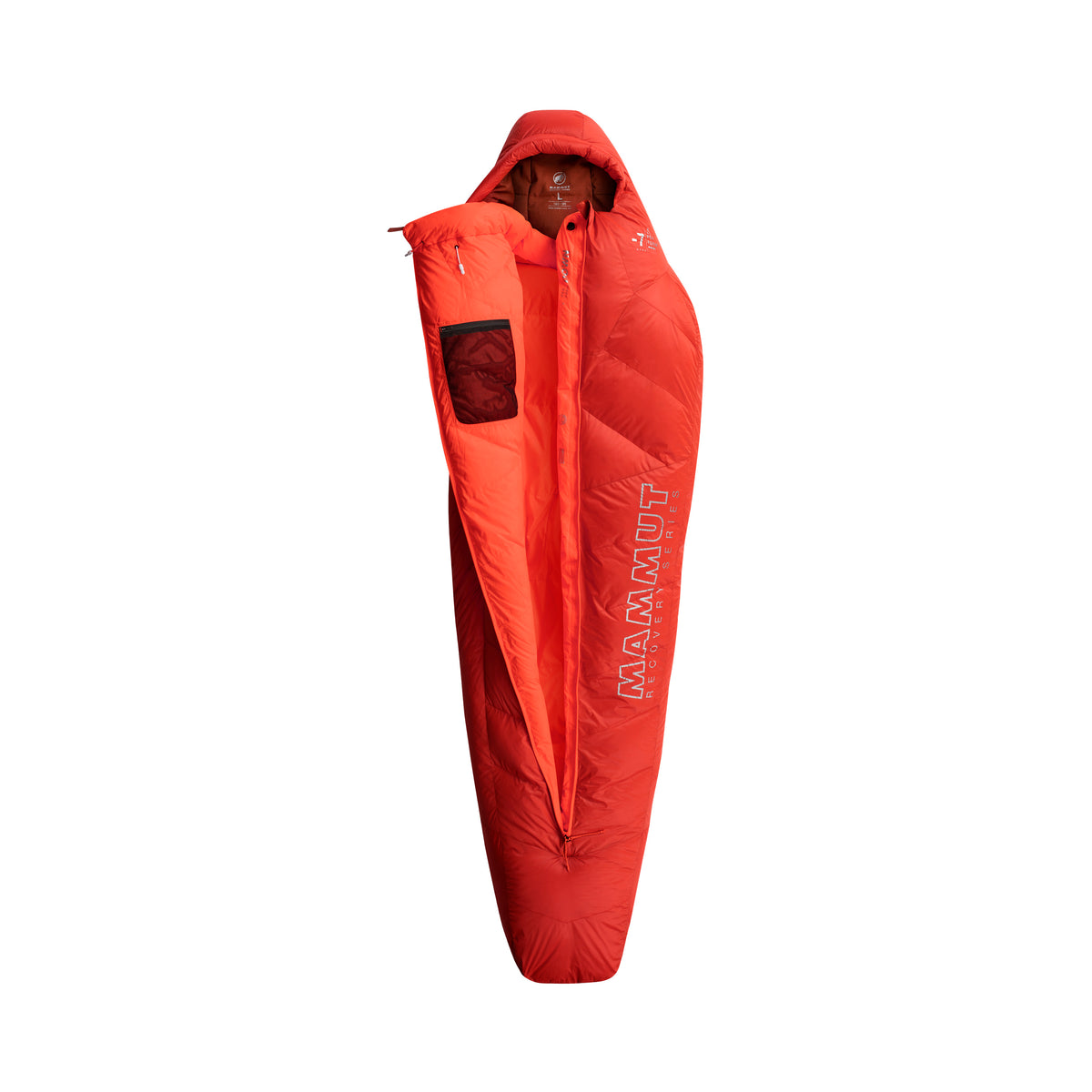 Mammut Perform Down Bag -7C (Safety Orange)