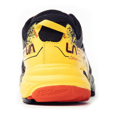 La Sportiva Akasha running shoe, view of the heel