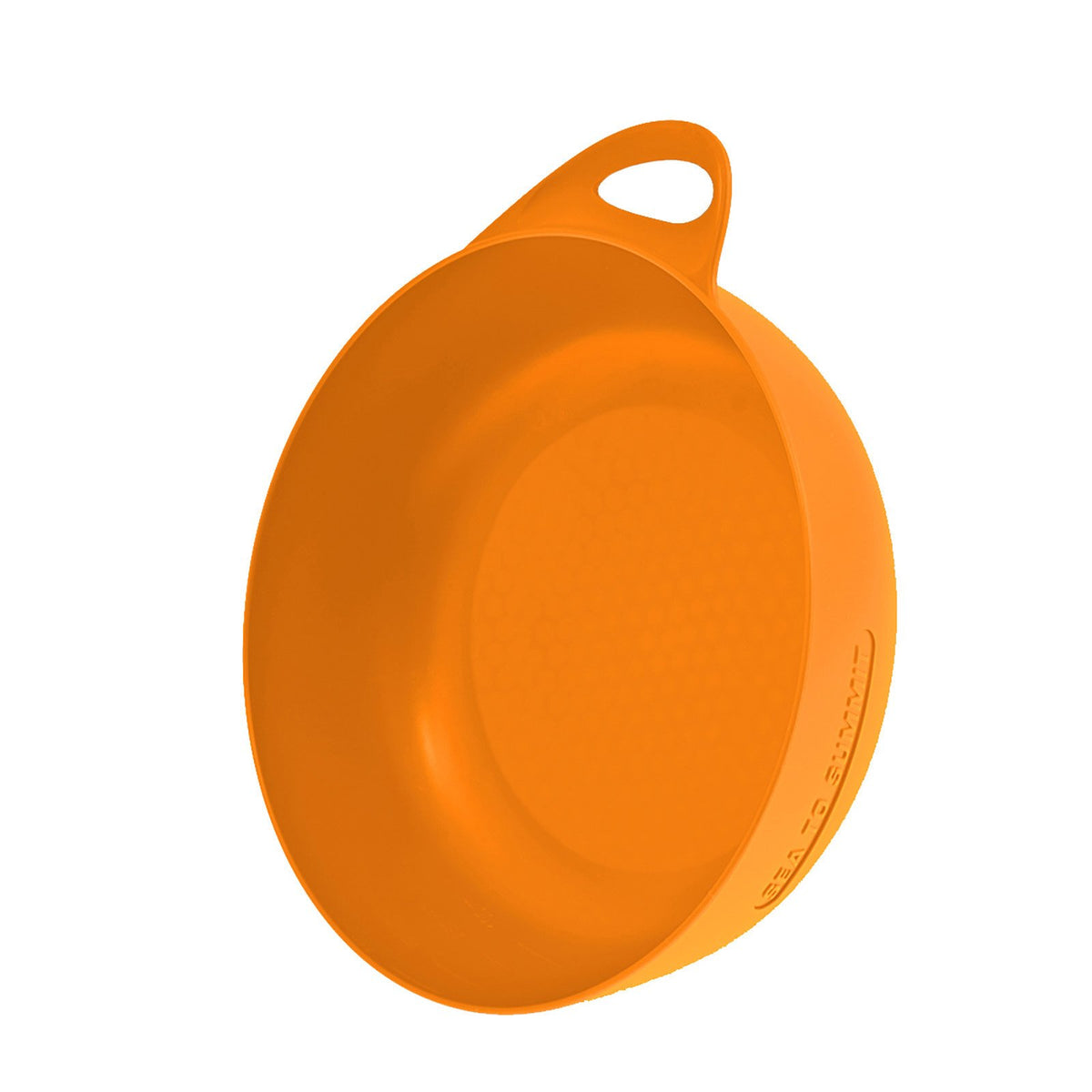 Sea to Summit Delta camping Bowl, in orange colour