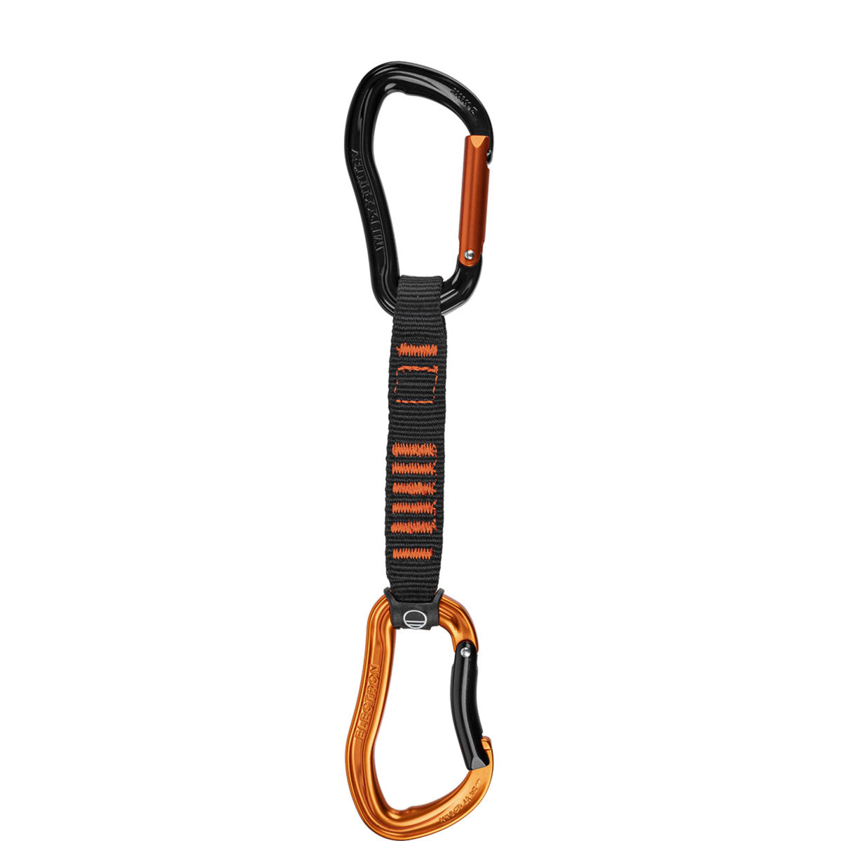 Wild Country Electron 12cm Quickdraw, Orange and Black
