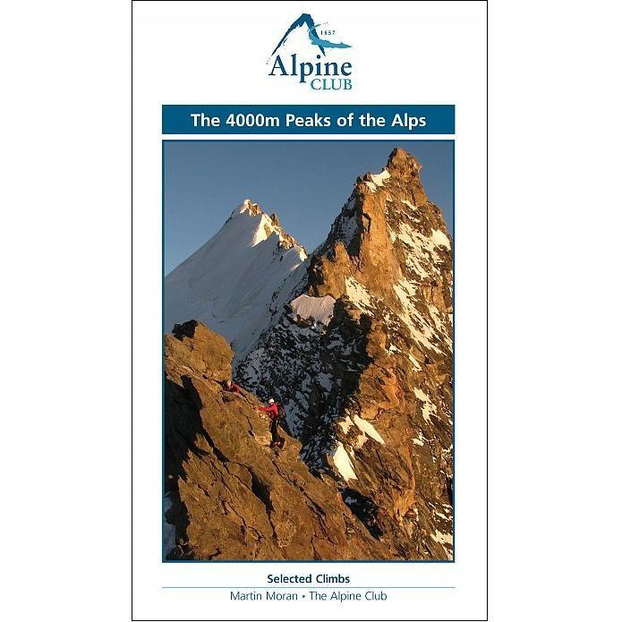 4000m Peaks of the Alps - Alpine Club climbing guidebook, front cover