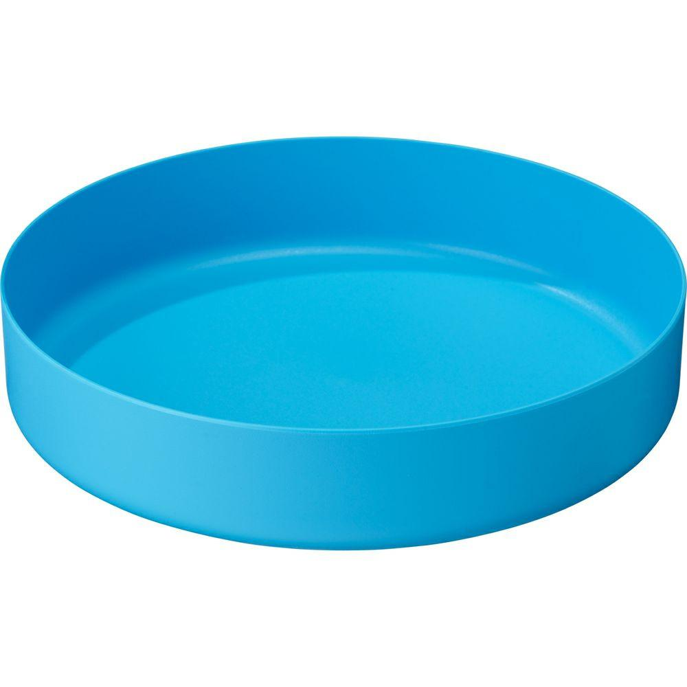 MSR DeepDish camping Plate, in blue colour